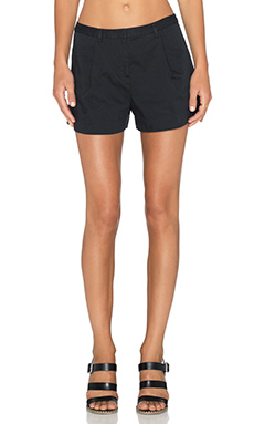 ATM Anthony Thomas Melillo Pleated Shorts in Black