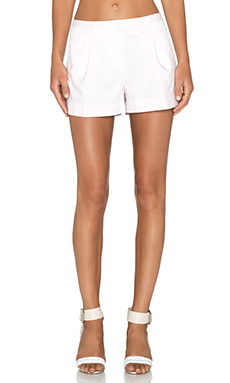 ATM Anthony Thomas Melillo Pleated Shorts in Faded Rose