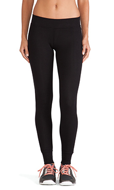 ATM Anthony Thomas Melillo Yoga Pant in Black