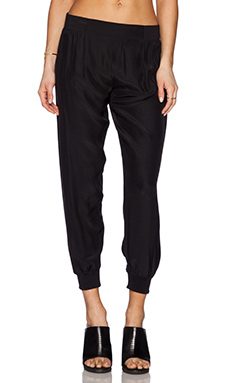 ATM Anthony Thomas Melillo Woven Pull On Pants in Black