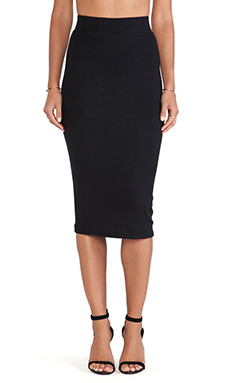 ATM Anthony Thomas Melillo Tube Skirt in Black