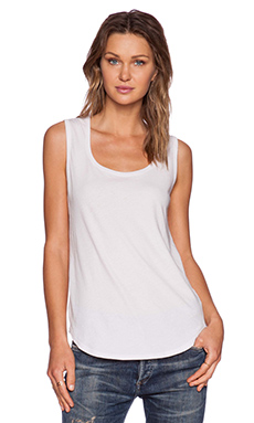 ATM Anthony Thomas Melillo Sweetheart Tank Top in Pale Lavender