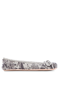 Autumn Cashmere Studded Digi Camo Slippers in Sweatshirt Combo