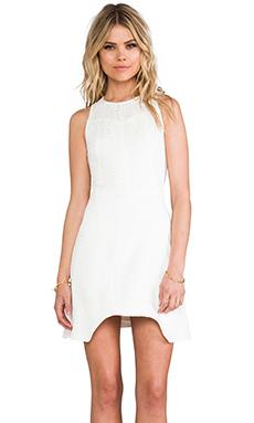 Alexis Dimitri Dress in White Python
