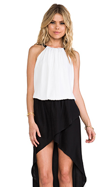 Alexis Swift Dress in Black & White