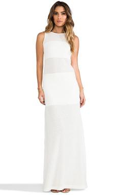 Alexis Mizuri Maxi Dress in White Pebble