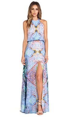 Alexis Nervis Maxi Dress in Dream Marine