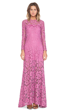 Alexis Belgrade Gown in Orchid Lace