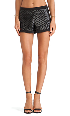 Alexis Valetta Shorts in Parallel Black