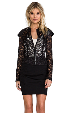Alexis Elise Jacket in Black Lace