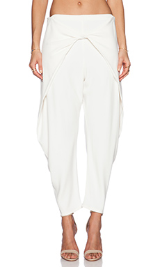 Alexis Levi Crossover Pant in Blanc