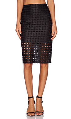 Alexis Cesar Pencil Skirt in Black