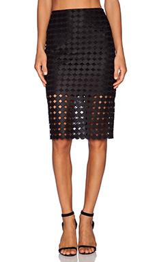 Alexis Cesar Pencil Skirt in Black