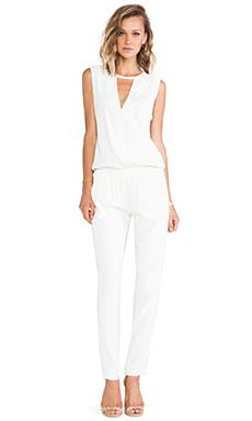 Alexis Zina V Neck Jumpsuit in White