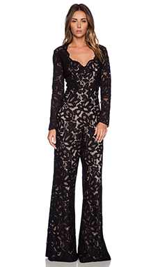 Alexis Hyatt Lace Jumpsuit in Black