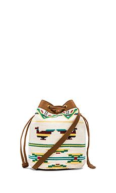 ba&sh Dartford Bucket Bag in Ecru