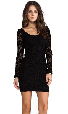 Backstage Anna Dress in Black