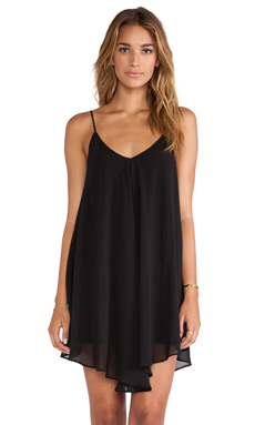 Backstage x REVOLVE Modern Love Dress in Black