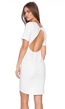 Backstage Harper Dress in White