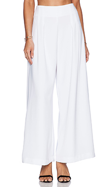 Backstage Coco Pant in White
