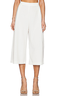 Backstage Jade Culotte Pant in Ivory