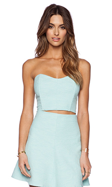 Backstage Dominique Top in Mint