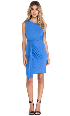 Bailey 44 Expressionist Dress in Blue