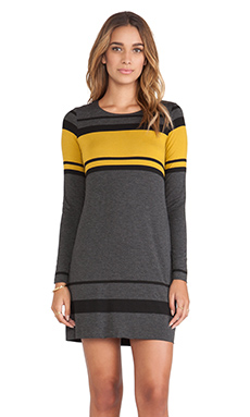 Bailey 44 No Fall Zone Dress in Mustard