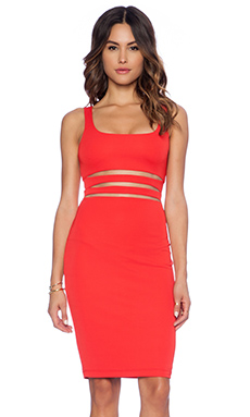 Bailey 44 Down Beat Dress in Red