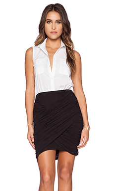 Bailey 44 Night Safari Dress in White & Black