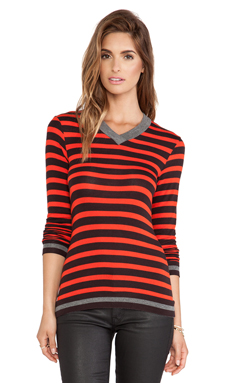 Bailey 44 Sunset Sweater in Fire