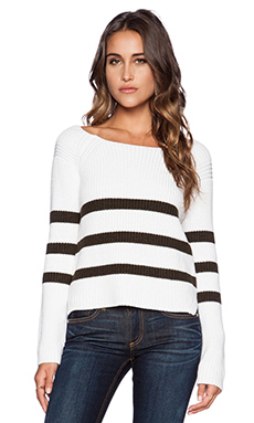 Bailey 44 Dunaway Sweater in Sepia