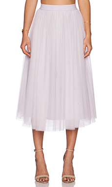 Bailey Shadow Waltz Skirt in Lilac