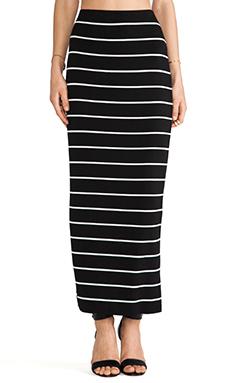 Bailey 44 Masakela Skirt in Big Stripe Black