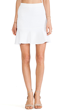 Bailey 44 Scorpion Skirt in White