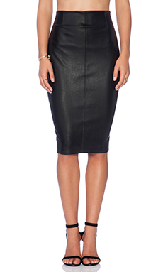 Bailey 44 Arrow Sudoku Skirt in Black