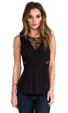 Bailey 44 Dress-Up Top in Black