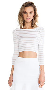 Bailey 44 Tropical Bliss Top in White