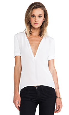 Bailey 44 Two Minute Warning Top in White