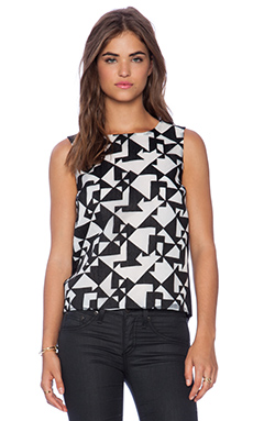 Bailey 44 Jigsaw Top in Black