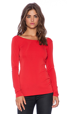 Bailey 44 Anagram Top in Red