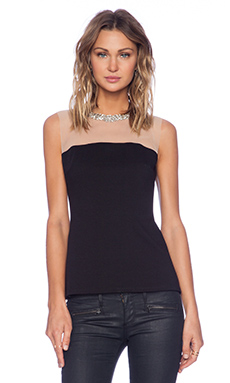 Bailey 44 The Diamond Stroll Top in Black
