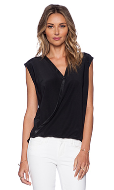 Bailey 44 Wildebeest Top in Black