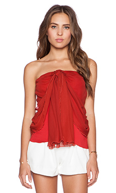 Bailey 44 Hawn Top in Pepper Red