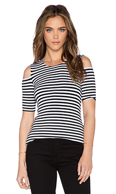Bailey 44 Bardot Top in Stripe