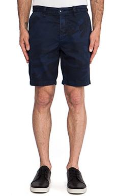 baldwin The Ryan Trouser Short in Navy Camo