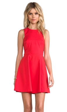 Bardot Nolan Skate Dress in Red