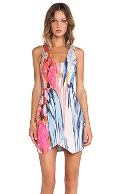 Bardot Desire Marble Dress in Print