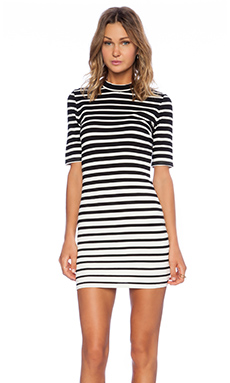 Bardot Graduated Stripe Dress in Stripe