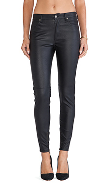 Bardot Leatherette Pant in Black